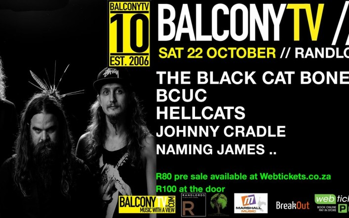 BalconyTV Live  Brought to you by Hunter's Gold  Refreshes for Longer