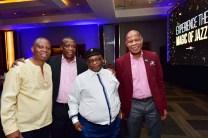 Herman Mashaba,Tim Modise,Peter Tladi and Mncedisi Ndlovu