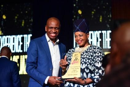 Tshiamo Sedumedi and Brenda Sesane