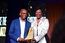 Tshiamo Sedumedi and Nothemba Madumo