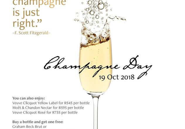 ChampagneDay is a reason to celebrate life – and champagne