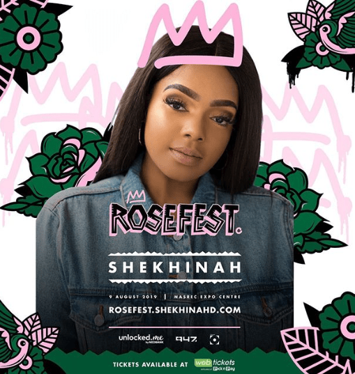 EVENTS: Celebrate Women's Day with Shekhinah's All Female Lineup at Nasrec