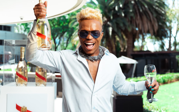 GET YOUR LIMITED EDITION G.H. MUMM BOTTLE SIGNED BY SOMIZI TOMMORROW IN WOODMEAD