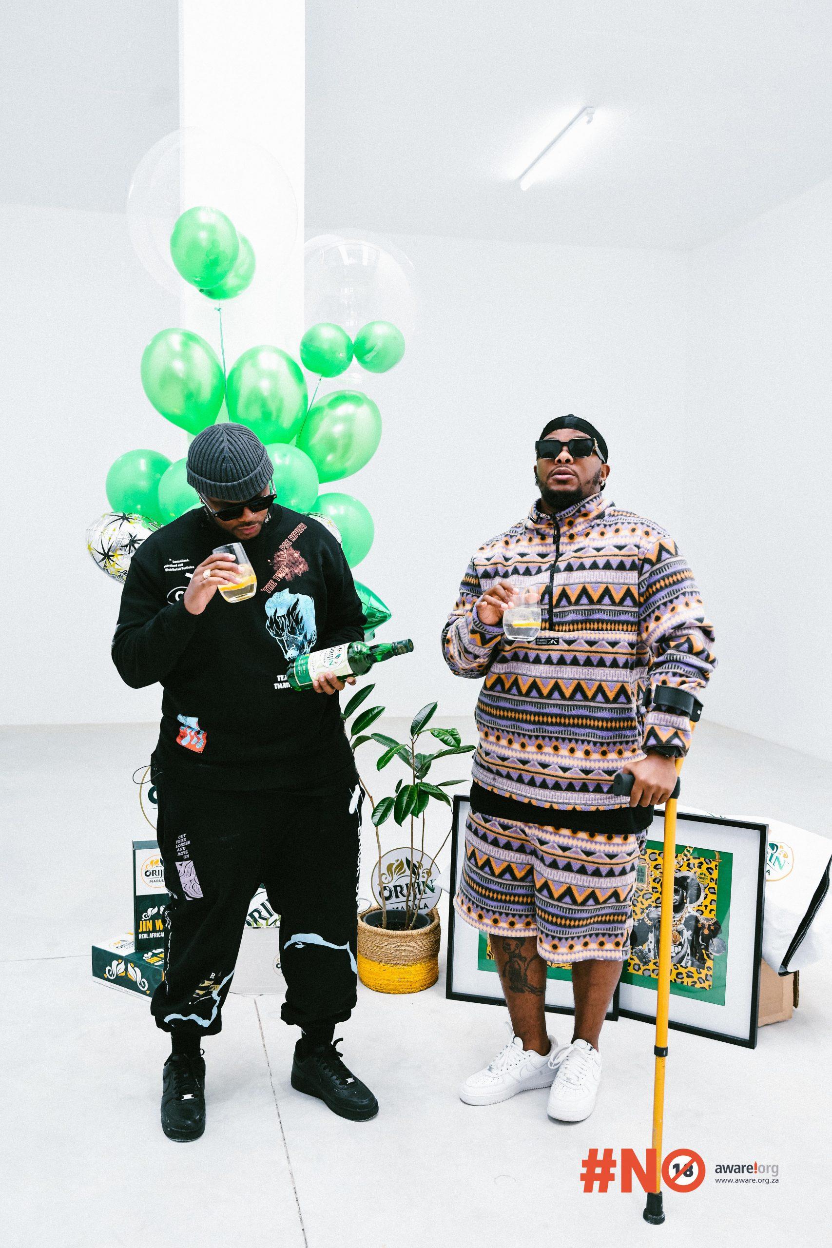 Orijin Marula unveils Lamiez Holworthy, Ntando Duma and Major League DJ's as its brand ambassadors