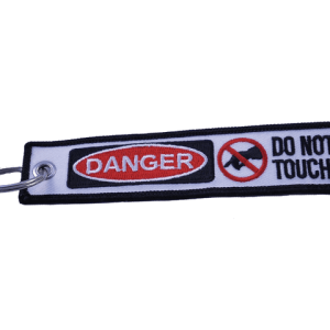 Do Not Touch Key Tag