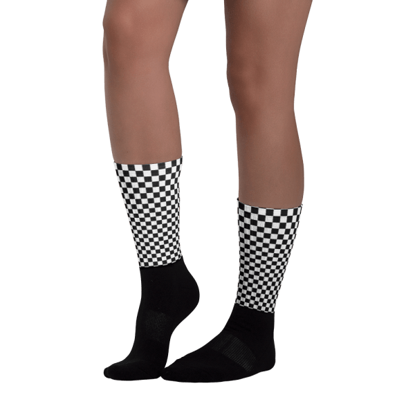 Chequered Flag Socks