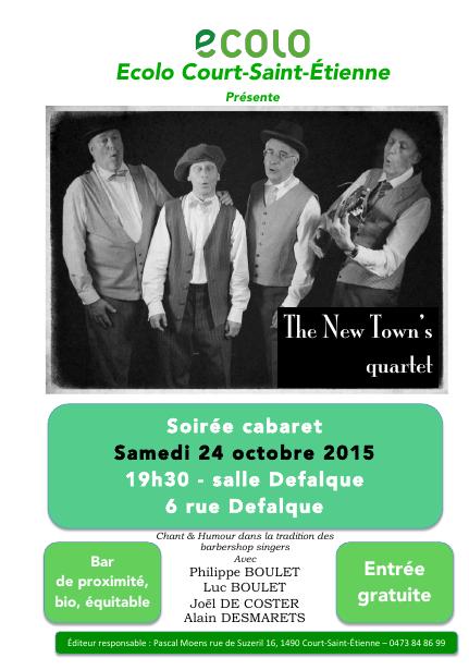 Cabaret à Court-St-Etienne : un moment convivial à ne pas râter – 24/10
