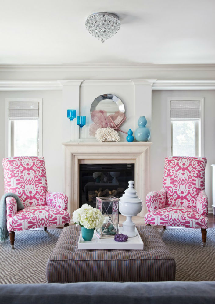 Side Arm Chairs Living Room