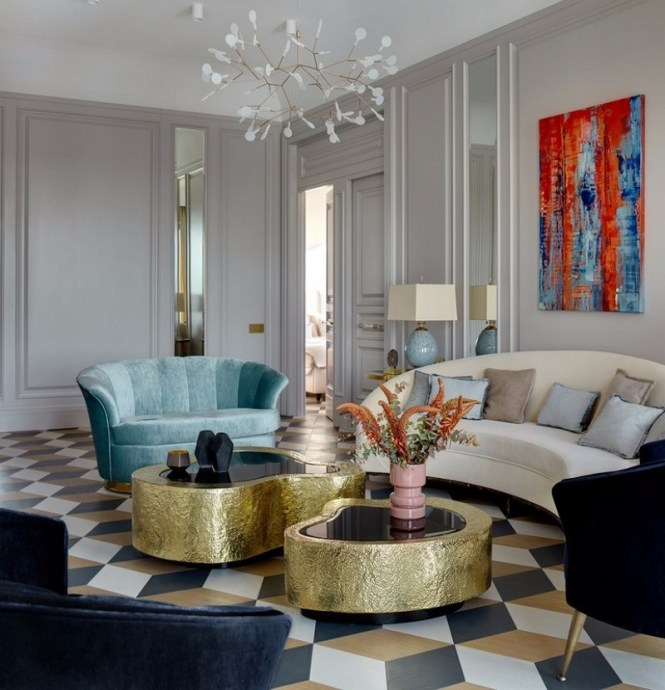An Elegant Apartment That Will Give You Interior Design
