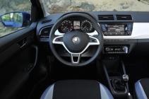 Škoda Fabia Dashboard