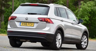 VW Tiguan Rear