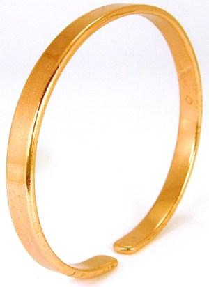 bracelet en cuivre sans aimanrts