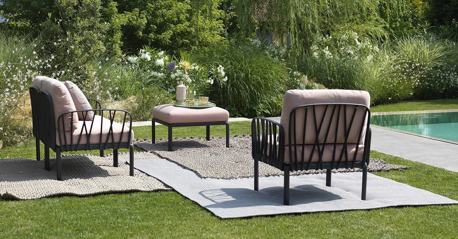 komodo armchair by nardi italy