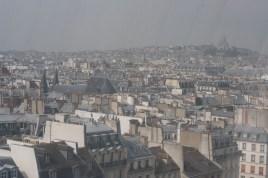 퐁피듀센터에서 파리를 조망할 수 있다