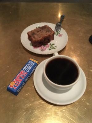 커피 초콜렛 등을 먹고 (커피 맛은 기억에 잘 안난다.)