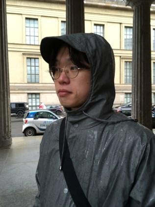 비가 또 온다.