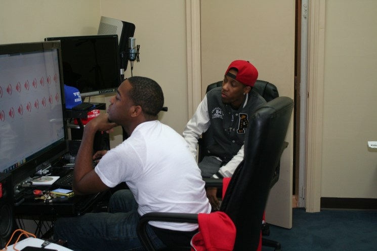 Blue and Fifth in the NEW studio (2)