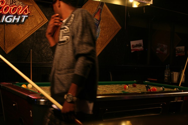 Braddy – ATTENTIONS – Pool Table (Standing Up Angle) (2)