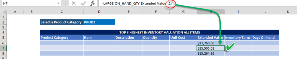 Copy large Formula and Change the K value