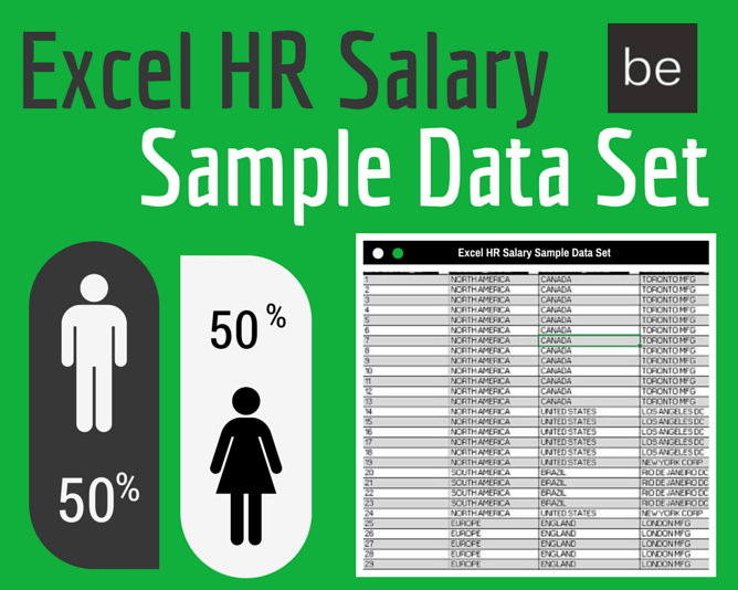 excel sample data