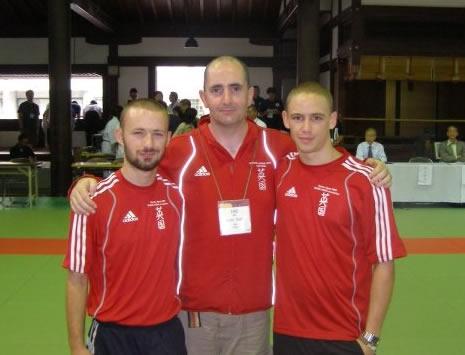 Garret, Lee, Matt the 2009 World Championship - Kyoto Japan