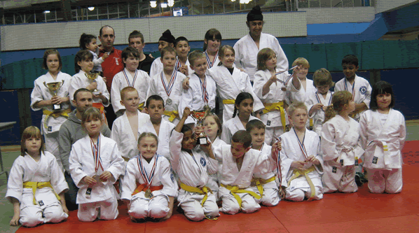 Bradford Juniors at the 2010 Northern Championship