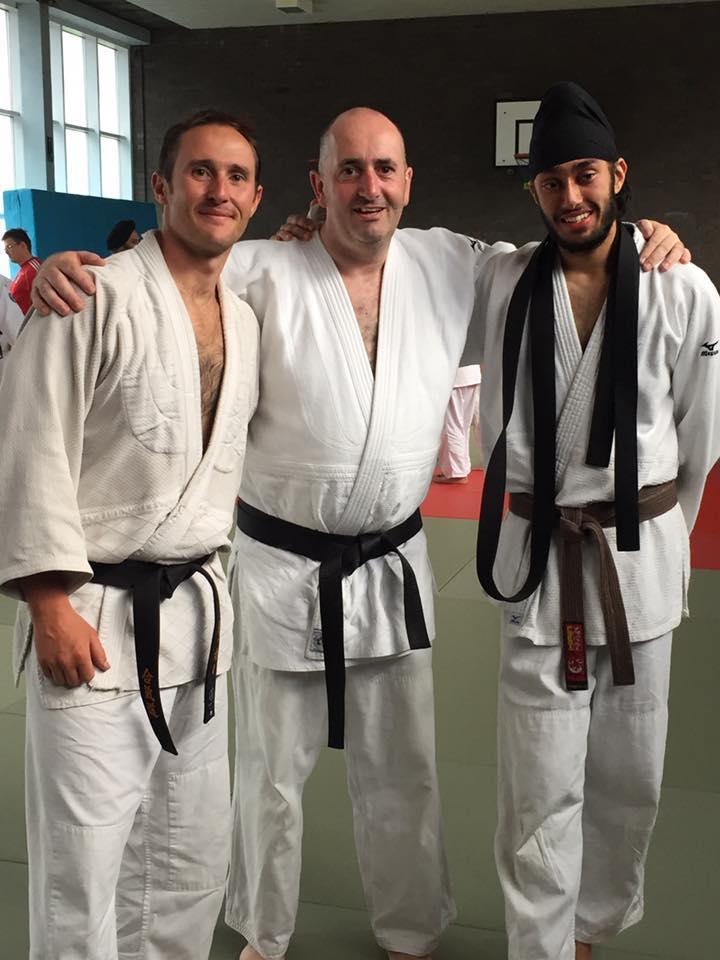 Garrett, Rajdeep, Paul Carr at the 2016 Summer School