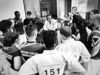 2017 Japan GB Team Huddle