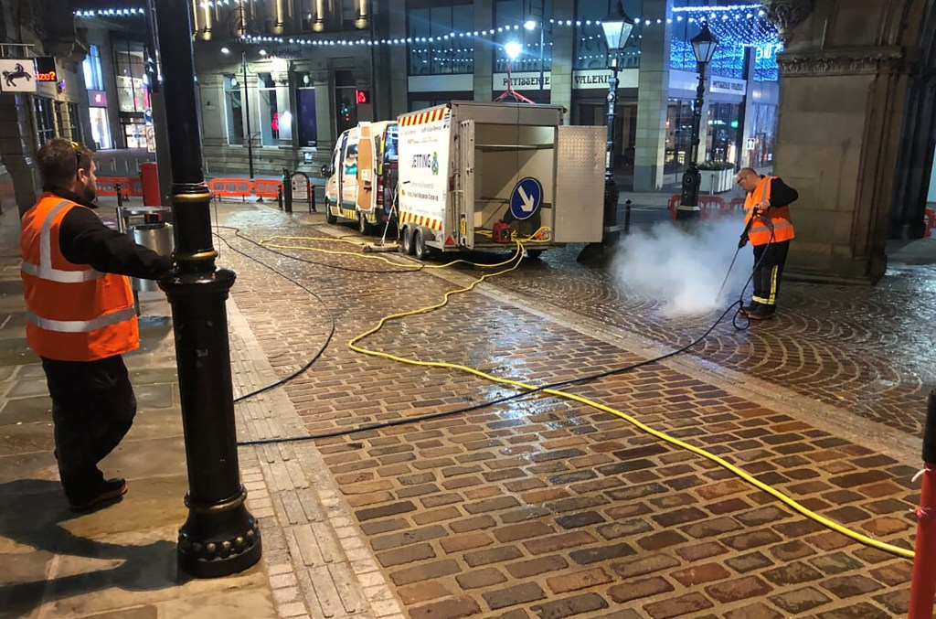 Bradford BID launches five-year plan to tackle gum 'menace' & clean up city streets