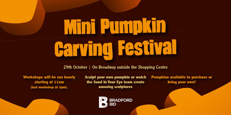 Mini Pumpkin Carving Festival – 29th October 2019