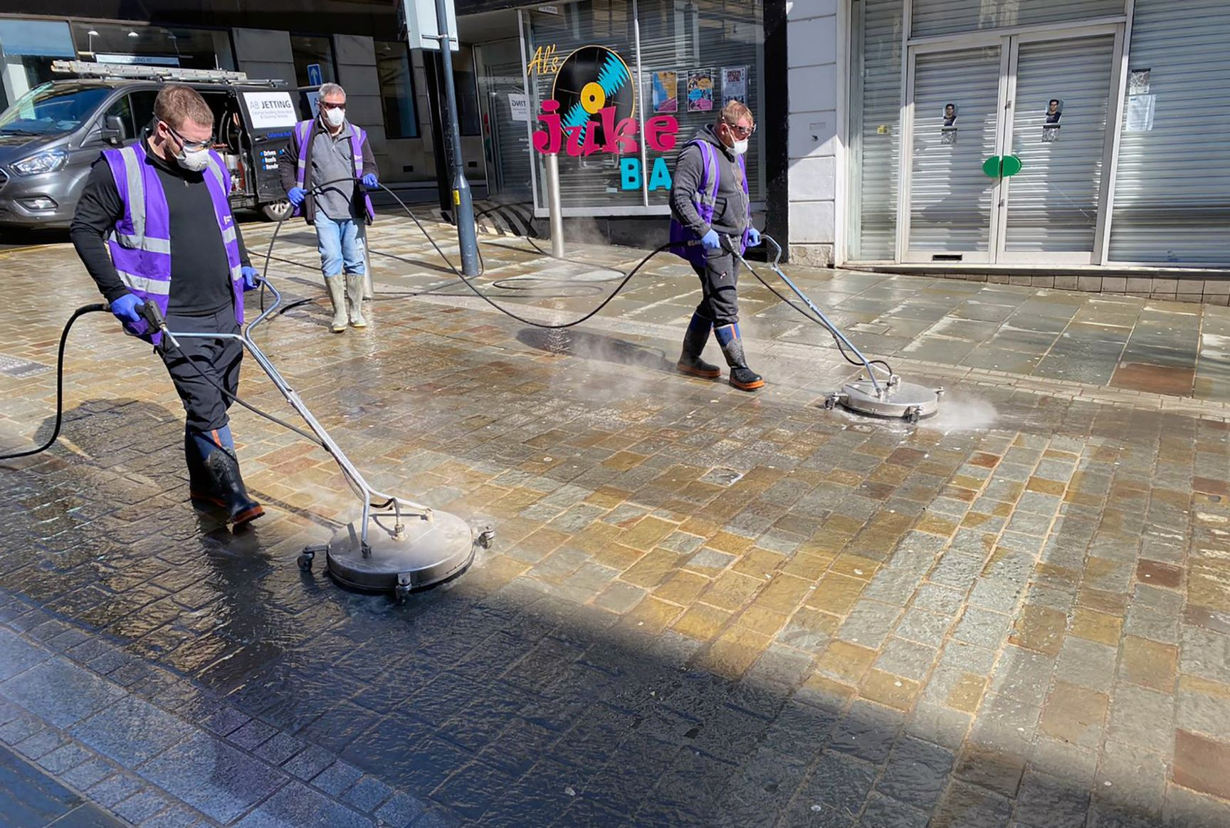 Hotwashing Mission for Streets of City