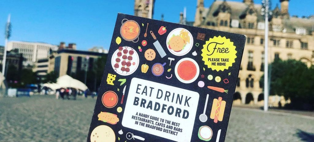 Eat Drink Guide Team Up With Bradford BID