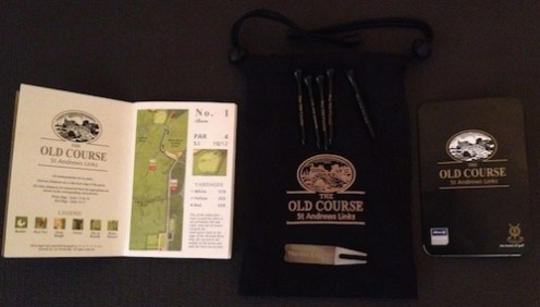 Old Course Goodie Bag