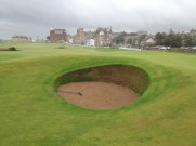 Road Hole Bunker St. Andrews Old Course