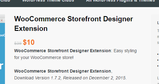 storefront designer knock off woothemes extensions