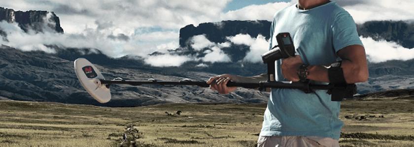 A sorte sorriu para o garimbo brasileiro – Chegou a Minelab