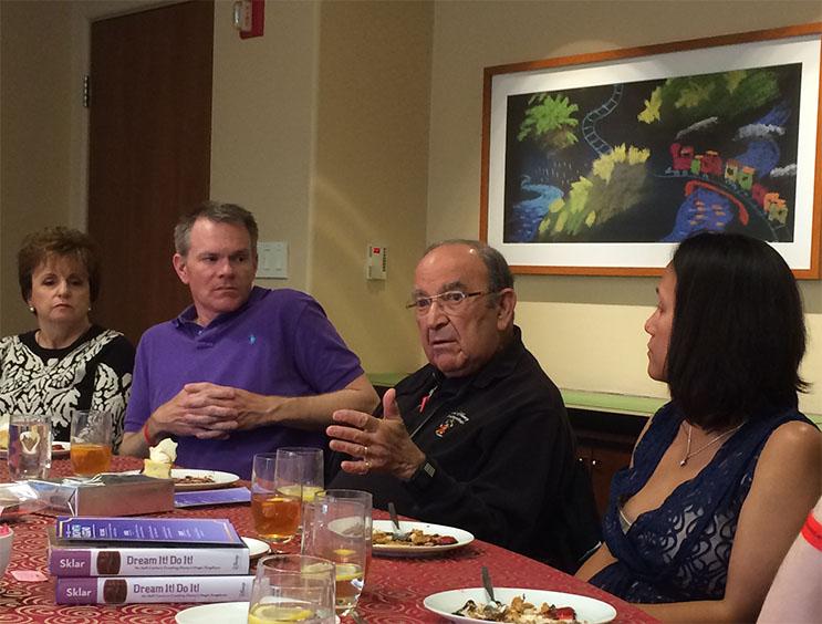 Marty Sklar Disney Imagineering Legend Lunch