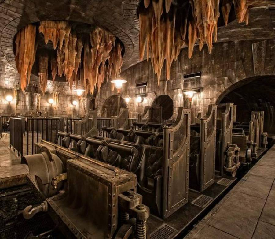 Escape from Gringotts - Wizarding World of Harry Potter
