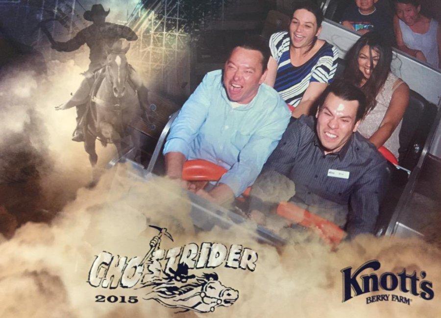 Knott's GhostRider