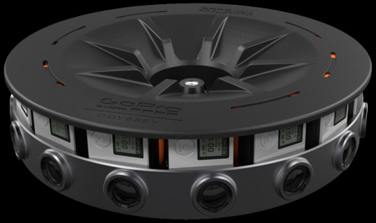 GoPro Odyssey 360 Degree Camera