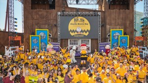 Charlie Brown Day Memorable Moment at Knott's Berry Farm