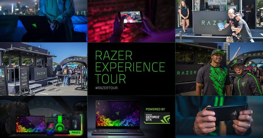 Experiential Marketing Example Razer Tour