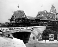 disney railroad opening day