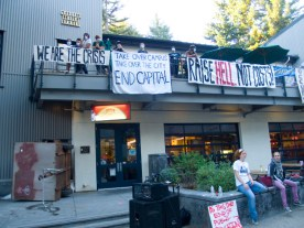 Graduate Student Commons Occupation