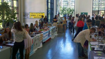 Organizations Tabling at the Campus Earth Summit