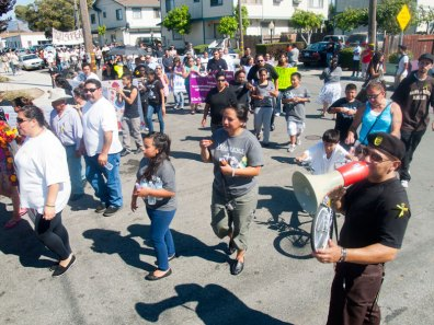 Peace and Unity March 2012 in Watsonville, CA