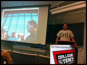 """I gave a presentation called """"Indymedia for Practical Activism."""""""