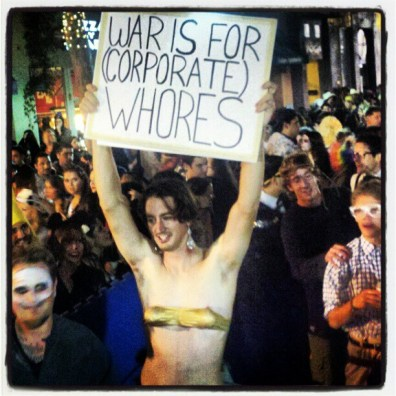 War Is For Corporate Whores