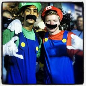Mario Bros. Luigi and Mario