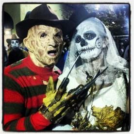 Freddy Krueger & Calavera Bride